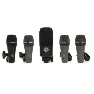 Telefunken DD5 5 Piece Dynamic Drum Microphone Pack