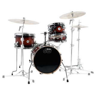 DW Design Series Mini Pro 18'' Maple Shell Pack, Tobacco Burst