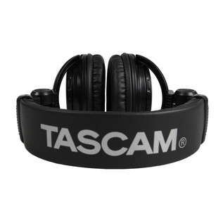 Tascam TH-02 Studio Reference Headphones, Black