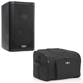 QSC K12 Active PA Speaker with Free Speaker Bag