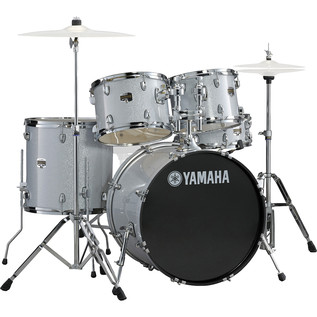 Yamaha Gigmaker 20'' Fusion Drum Kit, Silver Glitter