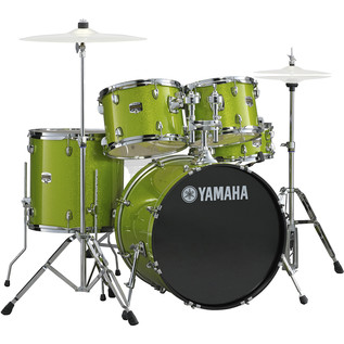 Yamaha Gigmaker 22'' Rock Drum Kit, White Grape Glitter