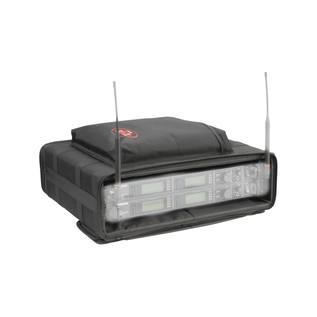 SKB 2U Audio Soft Rack