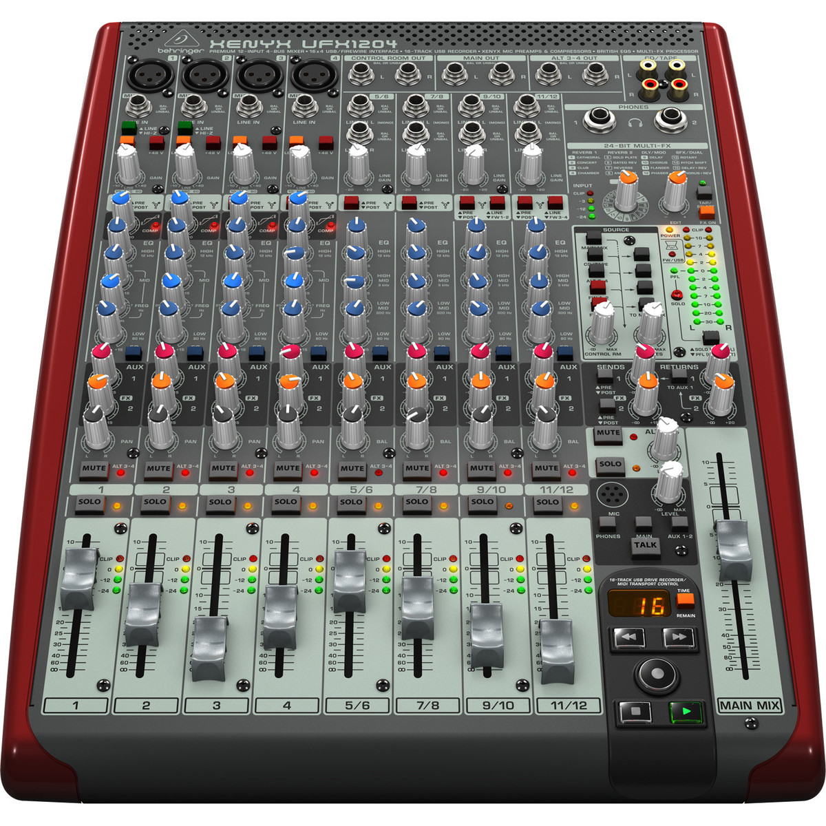 behringer xenyx ufx1204 small format mixer at. Black Bedroom Furniture Sets. Home Design Ideas