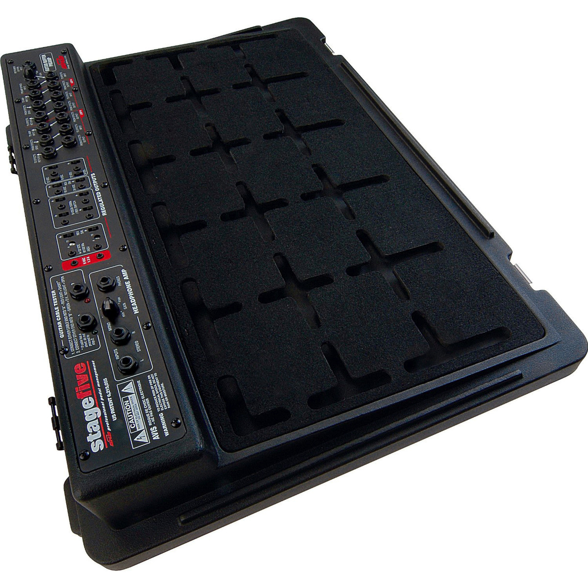 skb stagefive professional pedal board uk power supply nearly new at. Black Bedroom Furniture Sets. Home Design Ideas