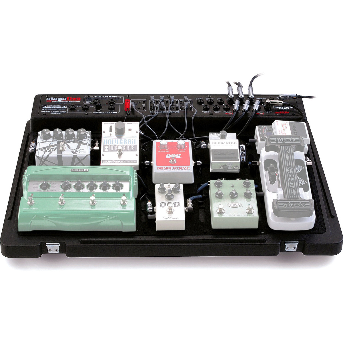 Skb Stagefive Professional Pedal Board Uk Power Supply