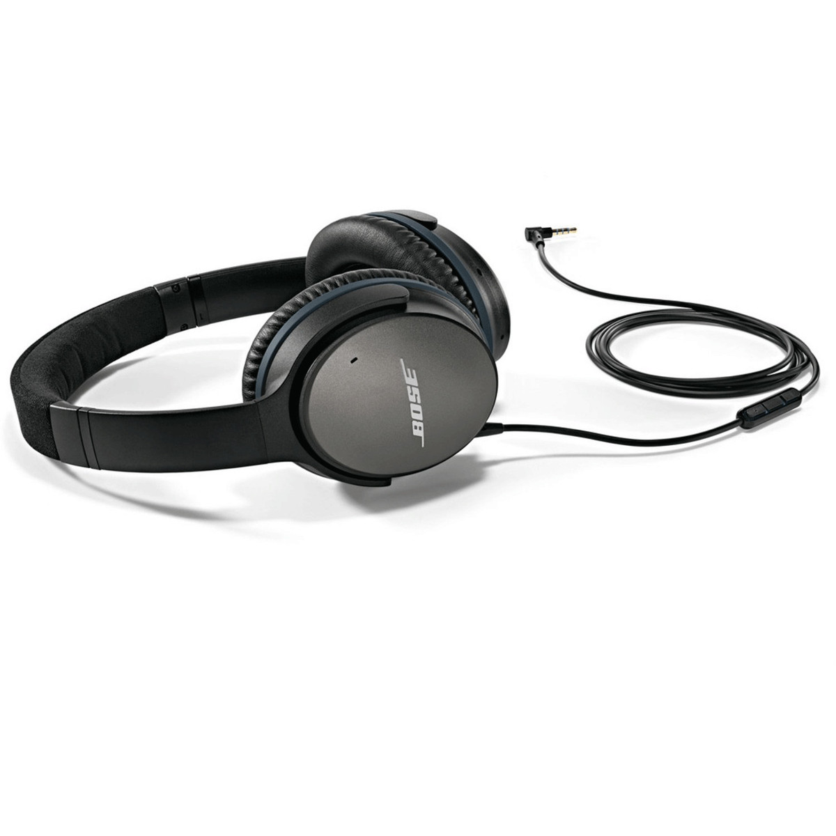 Bose QuietComfort 25 Acoustic Noise Cancelling Headphones, Black at ...