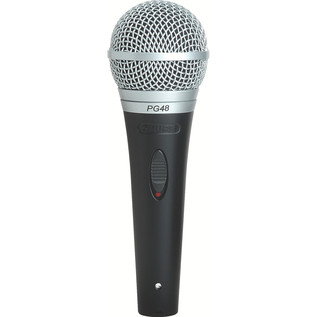 Shure PG48 Dynamic microphone With XLR to XLR Cable