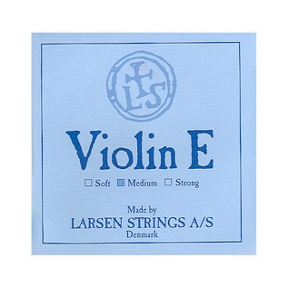 Larsen Medium Violin E String Loop End