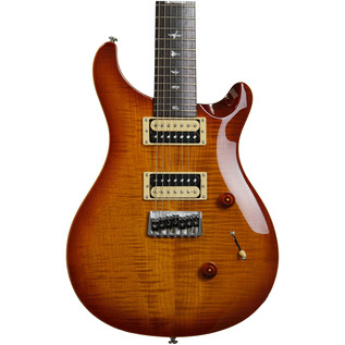 PRS SE Custom 24 7 String Electric Guitar, Vintage Sunburst
