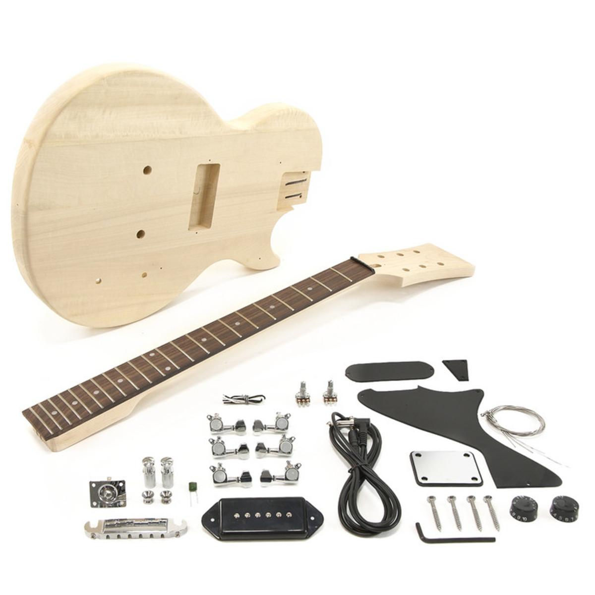 guitare lectrique de new jersey jr kit de bricolage ex. Black Bedroom Furniture Sets. Home Design Ideas
