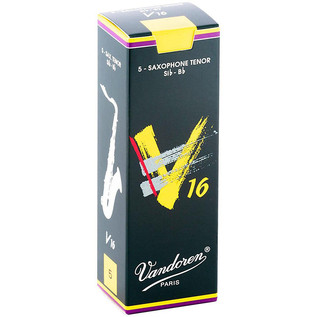 Vandoren V16 Tenor Saxophone Reeds Strength 2.0 Box of 5