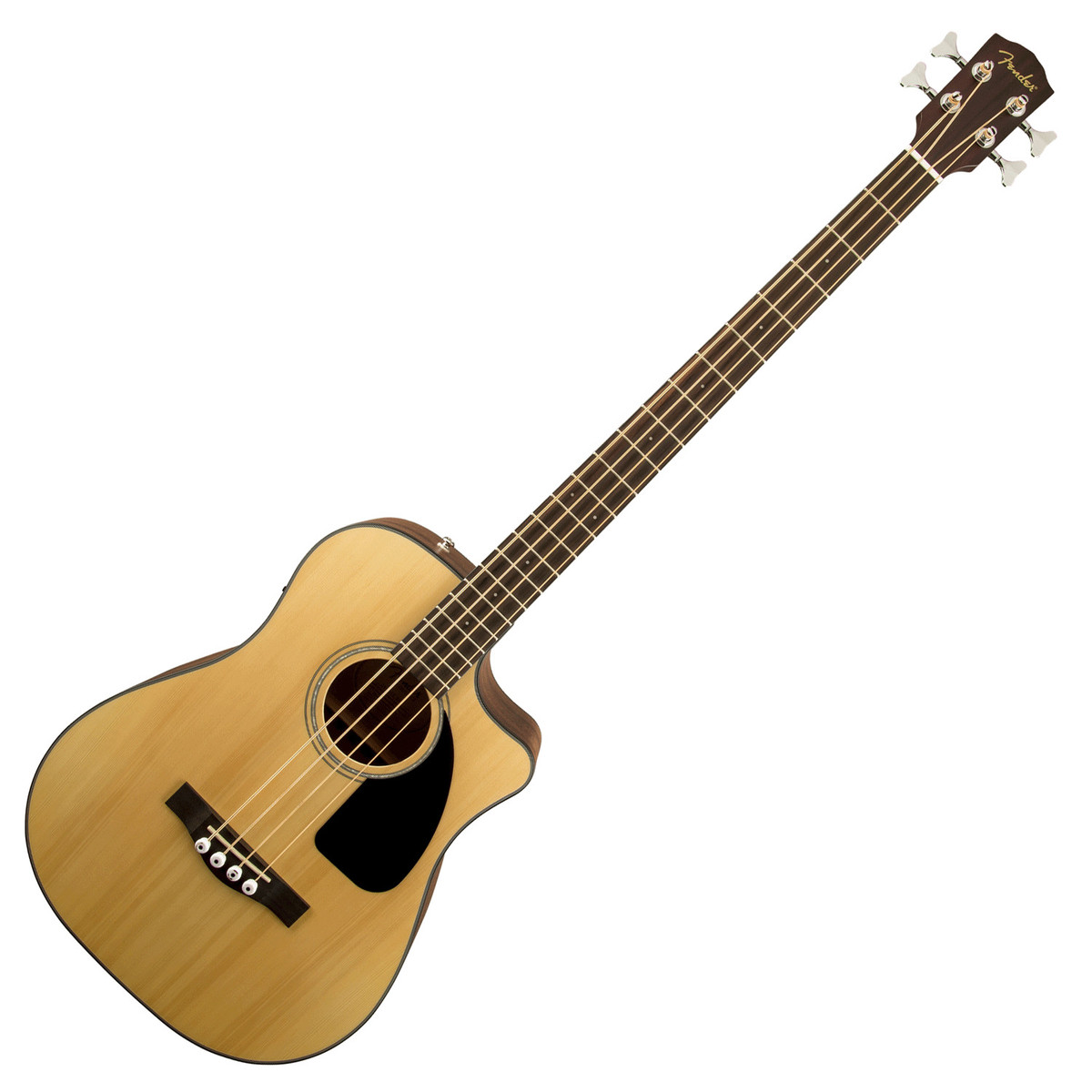 fender cb 100ce electro acoustic bass natural at. Black Bedroom Furniture Sets. Home Design Ideas
