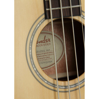 Fender CB-100CE Electro Acoustic Bass, Natural