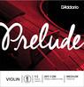 D'Addario    Prelude Violin E streng 1/2 skala, mellemstor spænding