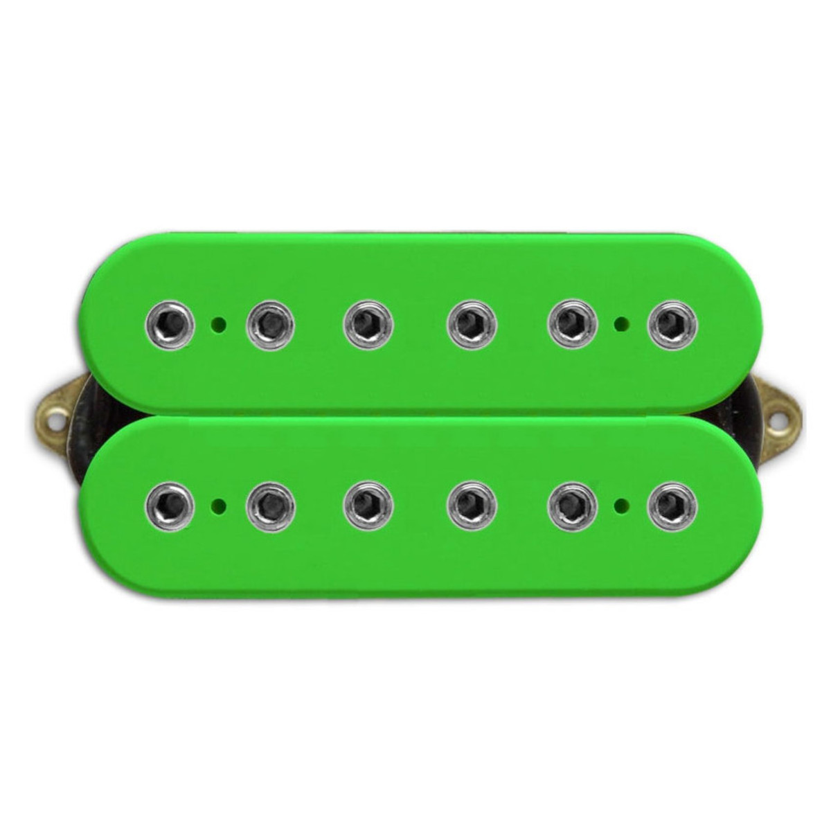 dimarzio dp151 paf pro f spaced humbucker guitar pickup green at. Black Bedroom Furniture Sets. Home Design Ideas