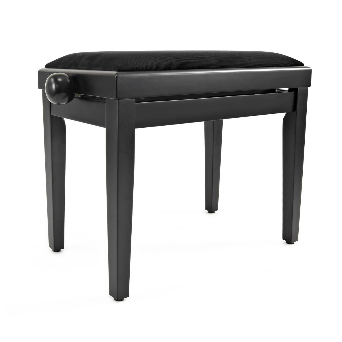 si ge piano r glable par gear4music noir mat comme neuf. Black Bedroom Furniture Sets. Home Design Ideas