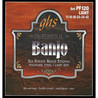 GHS PF120 Stainless Steel 6 String  Banjo Strings, Light Gauge