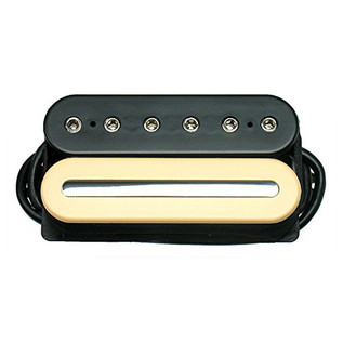 DiMarzio DP228 Crunch Lab F Spaced Humbucker Pickup, Black/Cream