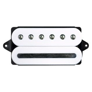 DiMarzio DP228 Crunch Lab F Spaced Humbucker Guitar Pickup, White