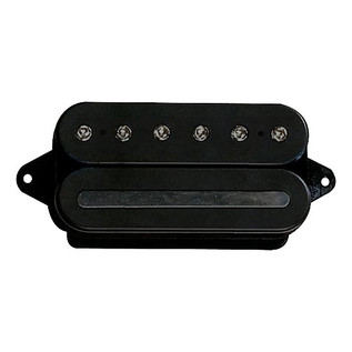 DiMarzio DP228 Crunch Lab F Spaced Pickup, Black w/Black Pole Pieces