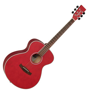 Tanglewood Discovery DBTFRD Acoustic Guitar, Red Matt Satin