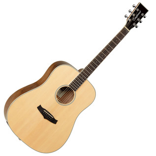 Tanglewood Evolution Deluxe TW28 PW Acoustic Guitar, Natural Gloss