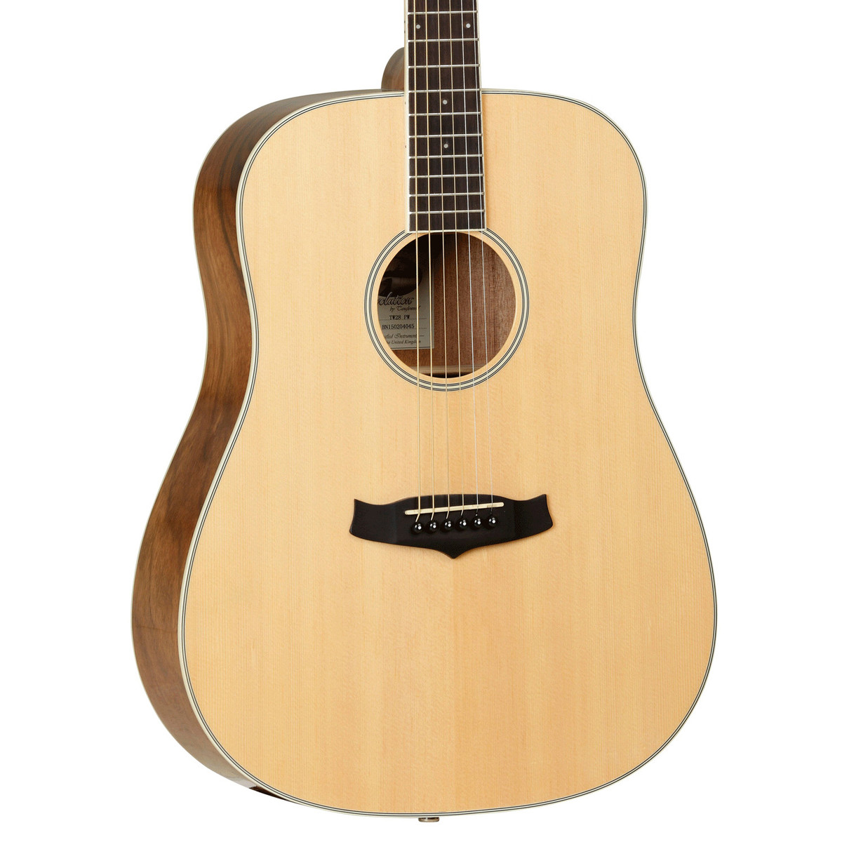Tanglewood evolution deluxe tw28 pw acoustic guitar at for The tanglewood