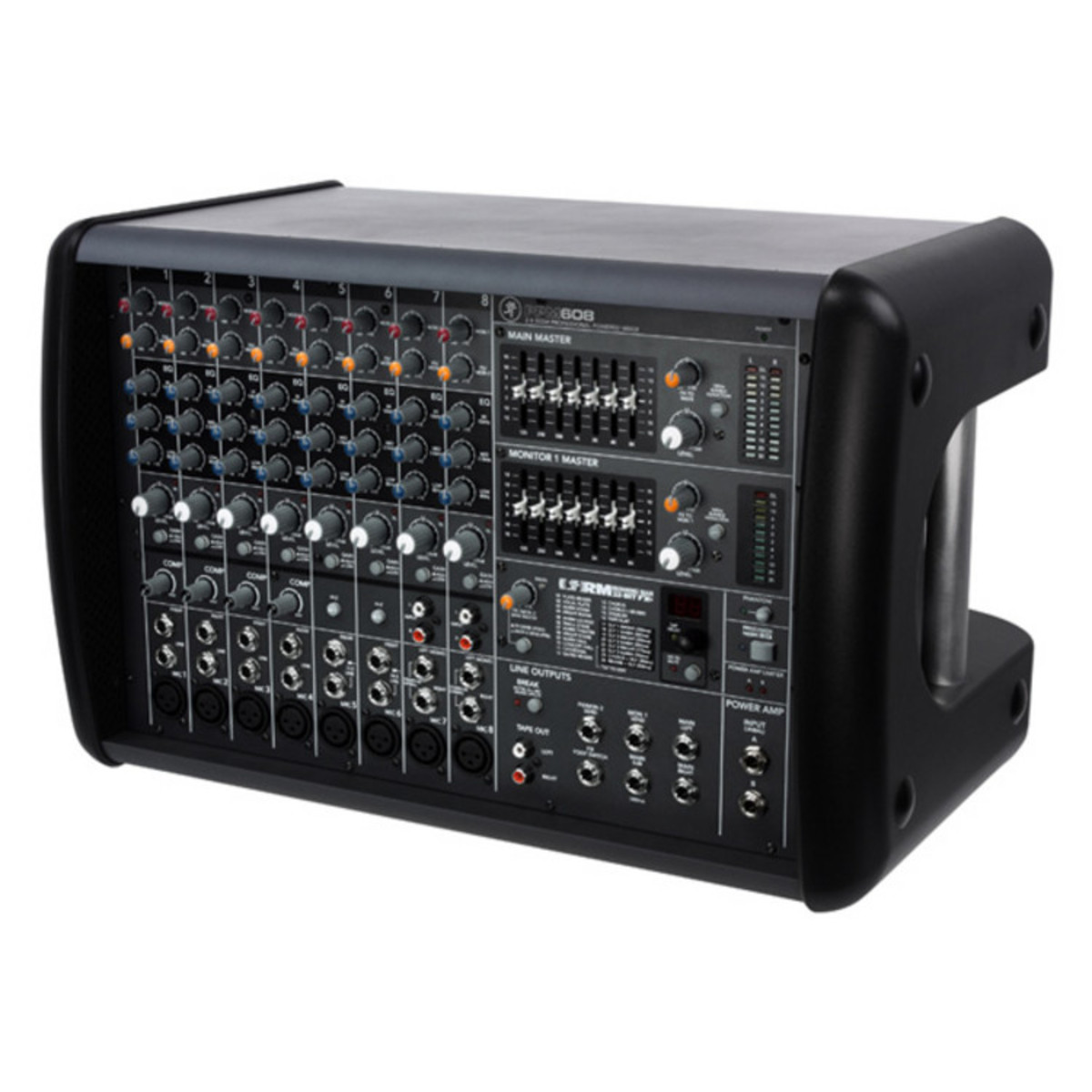 mackie ppm608 8 channel powered mixer nearly new at. Black Bedroom Furniture Sets. Home Design Ideas