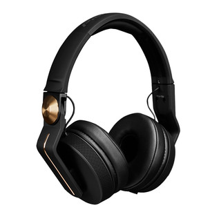 Pioneer HDJ-700 Professional DJ Headphones, Black/Gold