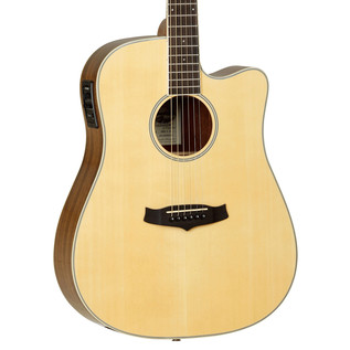 Tanglewood Evolution Deluxe TW28 ZCE Electro Acoustic, Natural Gloss