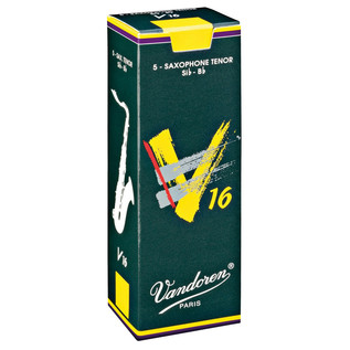 Vandoren V16 Tenor Saxophone Reeds Strength 3.0 Box of 5