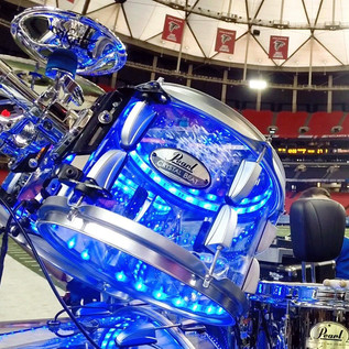 DrumLite Duel LEDs for Acrylic Drum sets