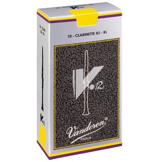 Vandoren V12 Bb Clarinet Reed, Strength 3.0 (10 Pack)