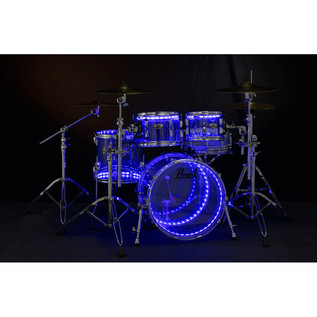 DrumLite Duel LED Lighting System for Acrylic Drumsets 22, 10, 12, 16