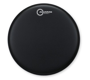Aquarian Response 2™ Texture Coated 12in Black