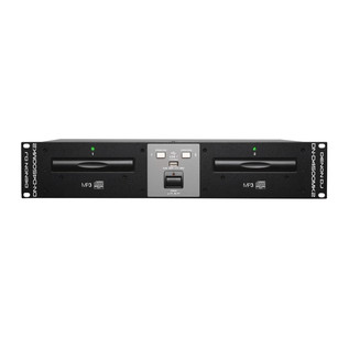 Denon DJ DND4500MK2 Rackmount Twin CD Player with USB Playback