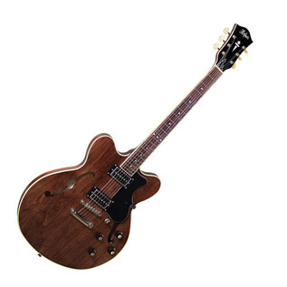 Hofner Limited Edition Verythin P90 Guitar, Transparent Brown