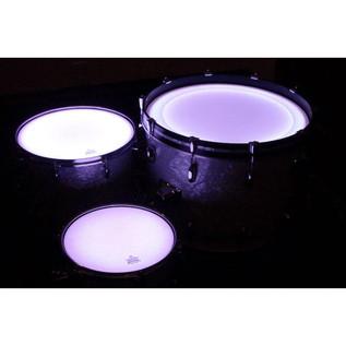 DrumLite Individual Single LED Lights For 16 x 16 Tom