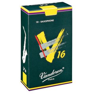 Vandoren V16 Alto Saxophone Reeds Strength 3.5 (10 Pack)