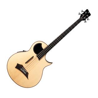 Warwick Alien 4-String Bass Guitar, Natural Satin
