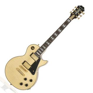 Epiphone Les Paul Custom Pro 100th Birthday Electric Guitar, Natural