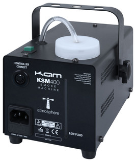 Kam KSM400 SMOKE MACHINE INC. FLUID - REAR