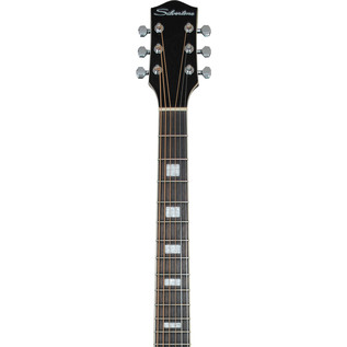 Silvertone 955 Acoustic Guitar, Black