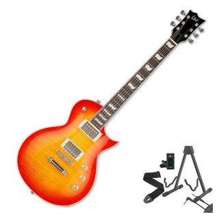 ESP LTD EC-256 FM Electric Guitar, Cherry Sunburst