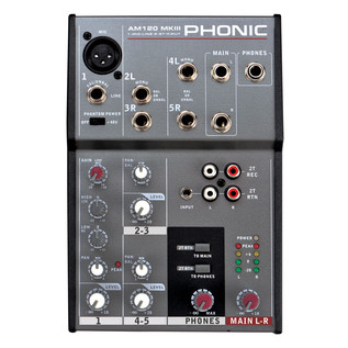 Phonic AM120 MKIII Analog Mixer