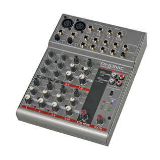 Phonic AM105 Analog Mixer - Rear