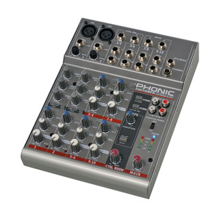 Phonic AM105FX Analog Mixer - Side View