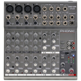 Phonic AM125 Analog Mixer
