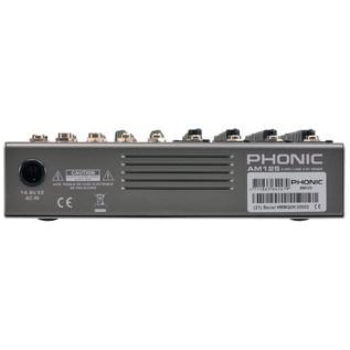 Phonic AM125 Analog Mixer - Back